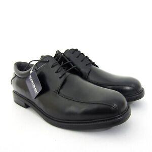 Nunn Bush Black Leather Oxfords Dress Shoes Marcell