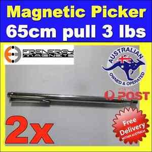 2X-Telescopic-Magnetic-Pick-up-Picker-Tool-65cm-3Lbs