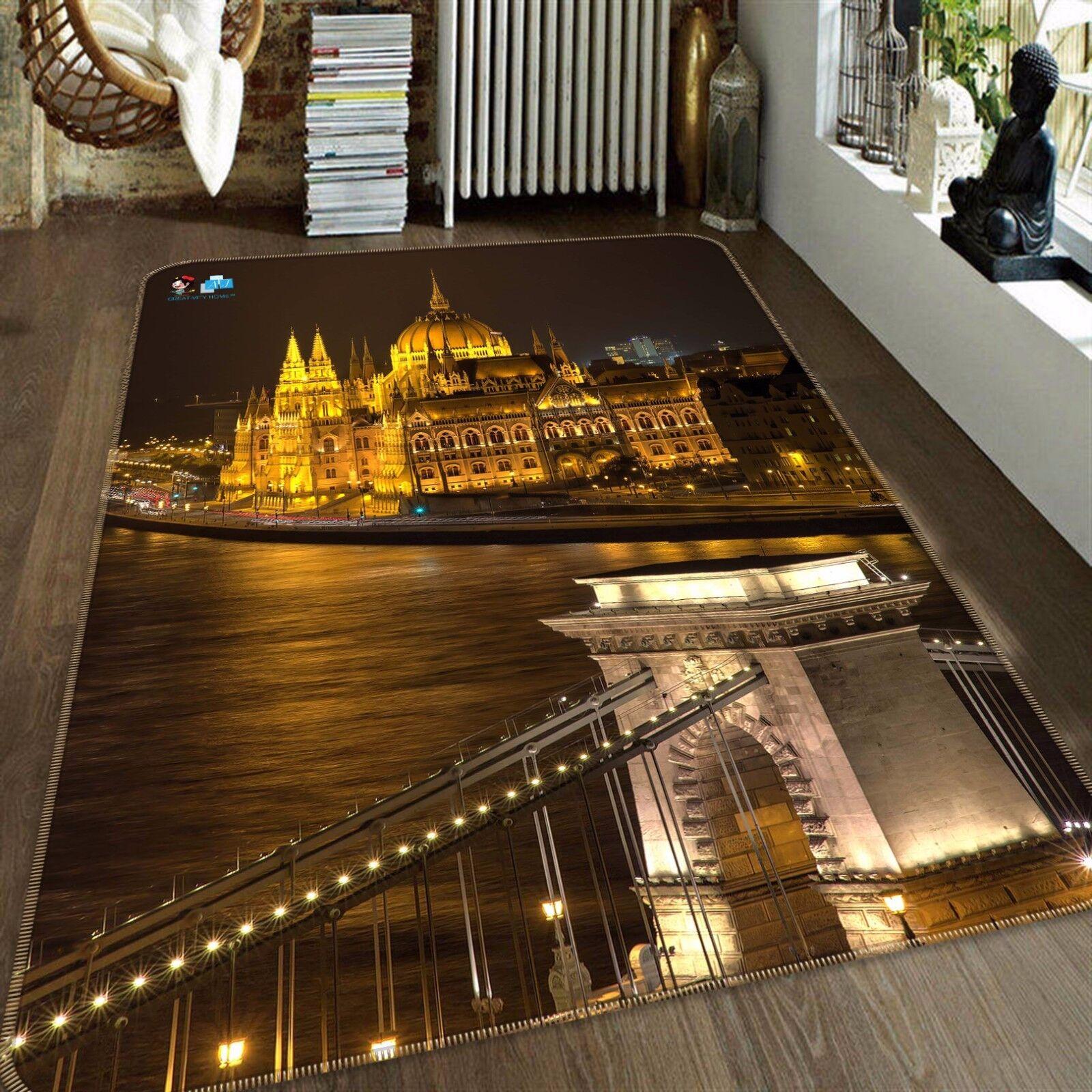 3D Castle 457 Non Non Non Slip Rug Mat Room Mat Quality Elegant Photo Carpet AU Summer a4063b