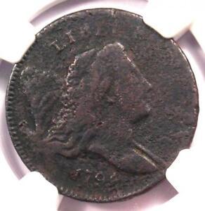 1794-Liberty-Cap-Flowing-Hair-Half-Cent-1-2C-NGC-Fine-Detail-Rare-Coin