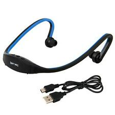 Sports Headset Headphone Handsfree MP3 Player + SD/TF Card Slot Flash Memory