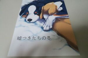 Doujinshi-DOG-furry-B5-40pages-D-Point-Kaiten-ParaDOGs-Usotsuki-Fuyu-kemono