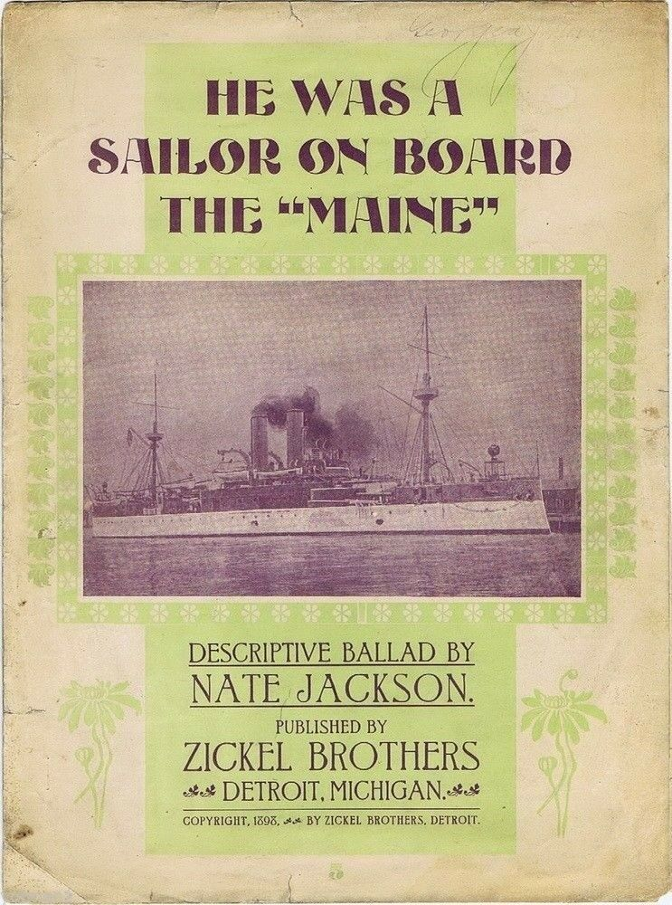 He Was A Sailor On Board the