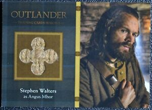 Cryptozoic-Outlander-Season-1-M19-Angus-Costume-Prop-Wardrobe-Trading-Card