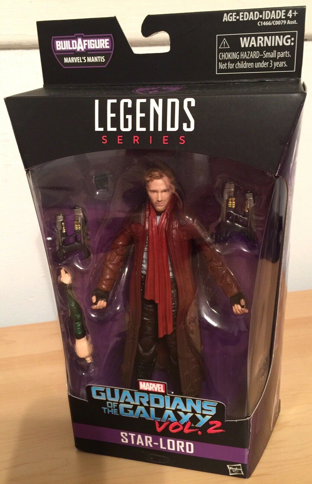 Marvel Marvel Marvel Legends Star-Lord Action Figure NIB Great Condition  1a18a0