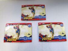 Paquete De 3 De Aluminio Spiderman Super Forma Globo De Helio-Globos De Fiesta De Marvel