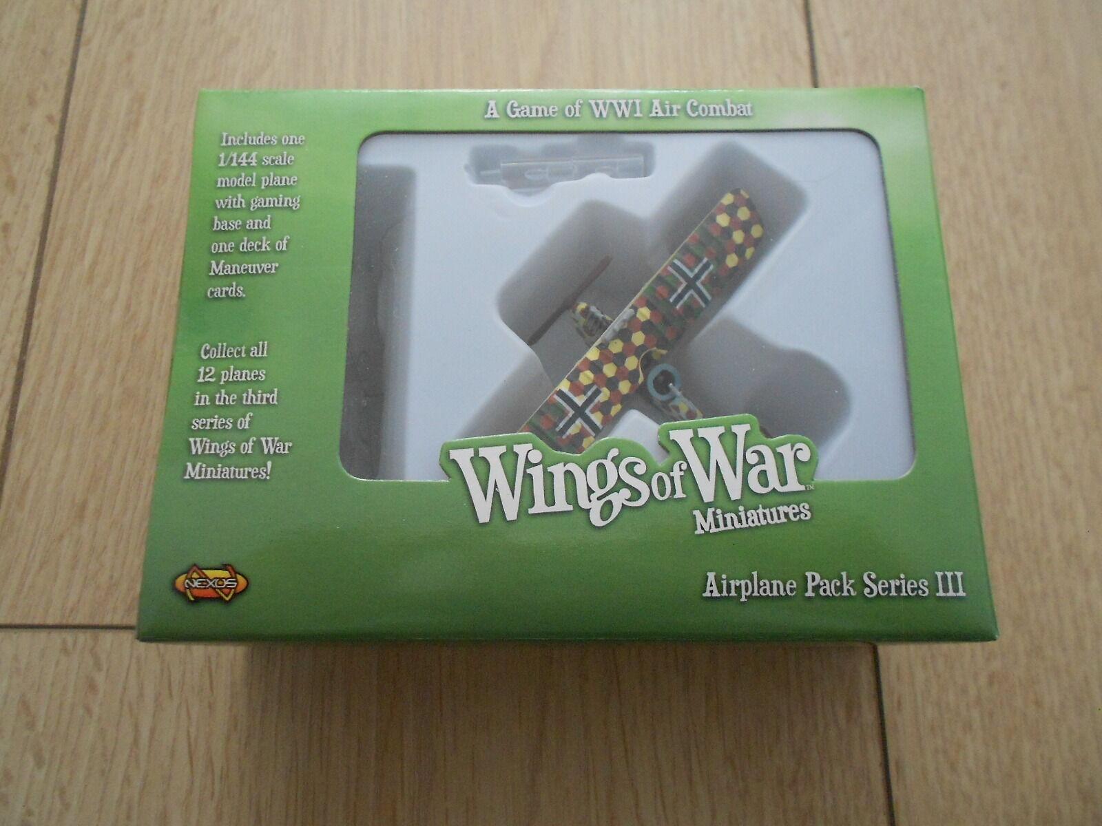 WINGS of WAR - WWI - Ufag C.1 - Luftfahrtruppen 1 - Series III - WOW124-B