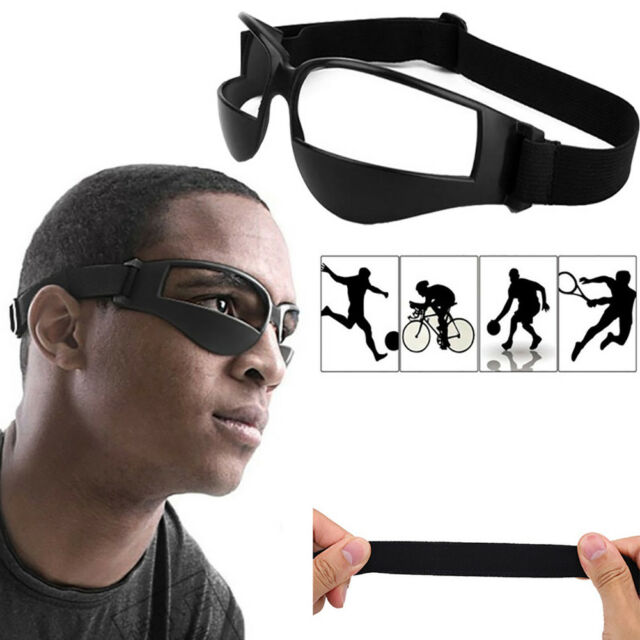 7706c3ca9139 Heads Up Basketball Dribble Dribbling Specs Goggles Glasses Training Aid  Proper