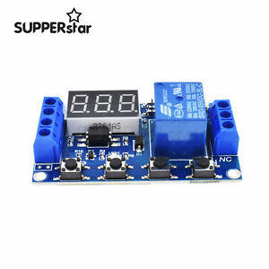 Micro-USB-LED-Automation-Delay-Timer-Control-Switch-Relay-Module-Display-5V-ASS