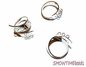 Metall-Fingerring-Rohling-19mm-1-Stueck-silber