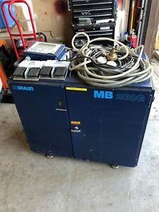 Details about MBRAUN LabMaster Glove Box MB200-G Gas Purification Unit &  Controller