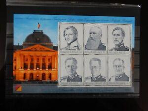 BELGIE BELGIUM BL 80 ** MNH 1999 150 JAAR BELGISCHE POSTZEGEL 2x17 2x32 2x50  /
