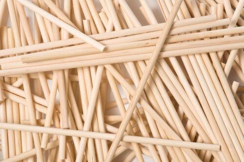 X 50 230x5mm Bois Rond Lollipop Bâtonnets Glace à L/'Eau Artisanats Sucette Bois