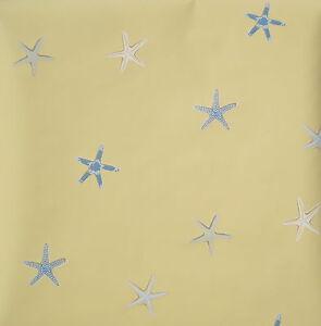 Brewster Yellow Seahorse and Starfish Wallpaper Border 499B74098