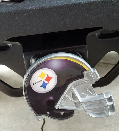 0862aa53 Great American Products NFL Metal Helmet Trailer Hitch Cover