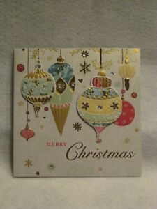 Paper magic handmade ornaments christmas greeting card new ebay image is loading paper magic handmade ornaments christmas greeting card new m4hsunfo