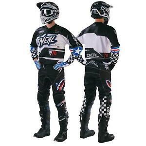ONEAL-Afterburner-Set-MX-MOTO-CROSS-Pantaloni-Jersey-MOTO-ENDURO-QUAD-abbigliamento