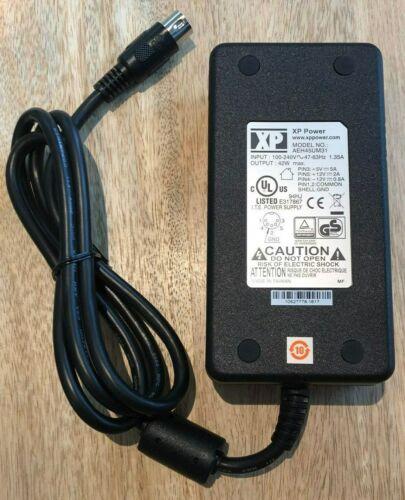 +12V 2A -12V 0.8A 3 Output XP Power AEH45UM31 AC//DC Power Supply +5V 5A 45W