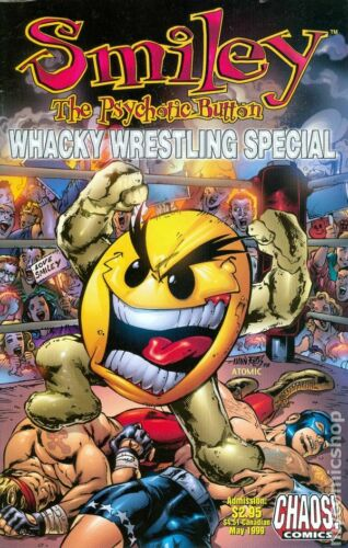 Smiley/'s Whacky Wrestling Special #1 VF 1999 Stock Image
