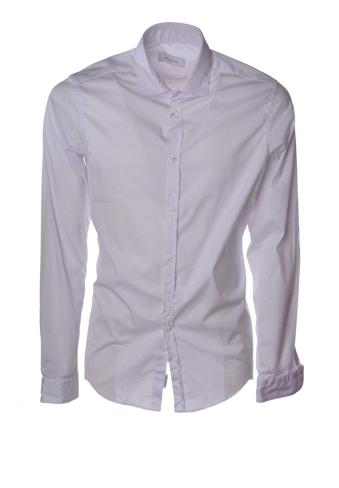 Aglini - bluesen-Shirt - Mann - white - 3181913A193549