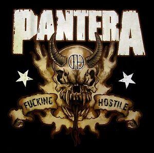 PANTERA-cd-lgo-F-CKING-HOSTILE-SKULL-Official-SHIRT-XL-New-vulgar-display
