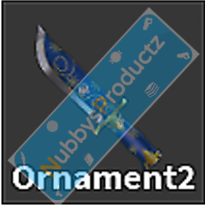 Roblox-Murder-Mystery-2-MM2-Ornament-2-Godly-Knife-Read-Desc