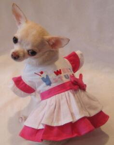 Dog-dress-Dog-Clothes-Chihuahua-Sweet-Stuff-Dog-Dress-XS-S-M-L-FREE-SHIPPING
