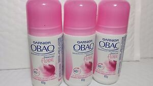3-DEODORANT-OBAO-GARNIER-65-GR-EACH-FRESCURA-FLORAL-24-H-PINK-NEW-ROLL-ON