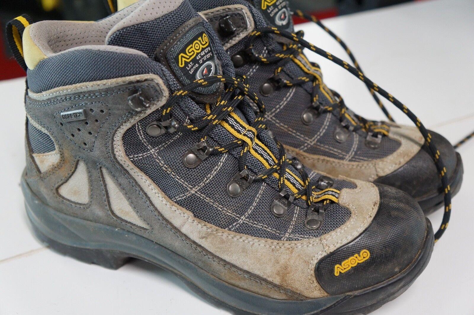 "Women's Asolo ""FSN 70 GTX"" Hiking Boots G   Leather 7 M Waterproof  10 days return"