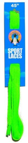 Penguin Brand Neon Flat Sports Lace
