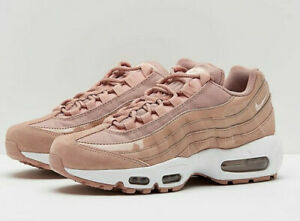 buy online c4e0d 3cbb4 Details about NIKE AIR MAX 95 TRAINERS UK 7 EU 41 WOMENS PINK 307960-601  SUEDE NUDE 90 97