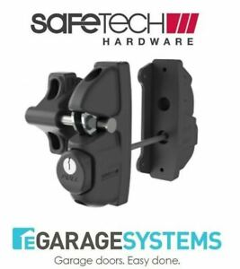 Safetech-Gravity-Double-Sided-Gate-Latch-amp-Fixed-Tension-Hinges-SLV-X2-F90L