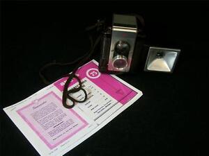 Vintage 1961 Argus Lumar 75 Camera w/Flashbulb Holder