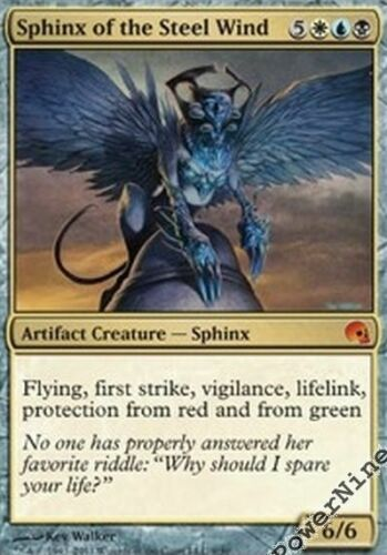 4 PreCon PLAYED FOIL Sphinx of the Steel Wind Gold PDS Graveborn Mtg Magic Myt