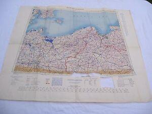 alte-Karte-2-WK-der-US-Army-von-1943-BERLIN-WARSAW