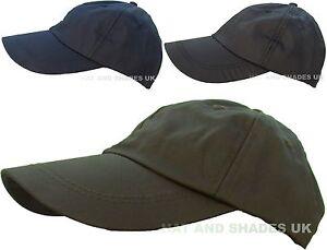 Caricamento dell immagine in corso Cera-Cappello-da-Baseball-Impermeabile -Pesca-Caccia-Pioggia- 2de2cd5c919a