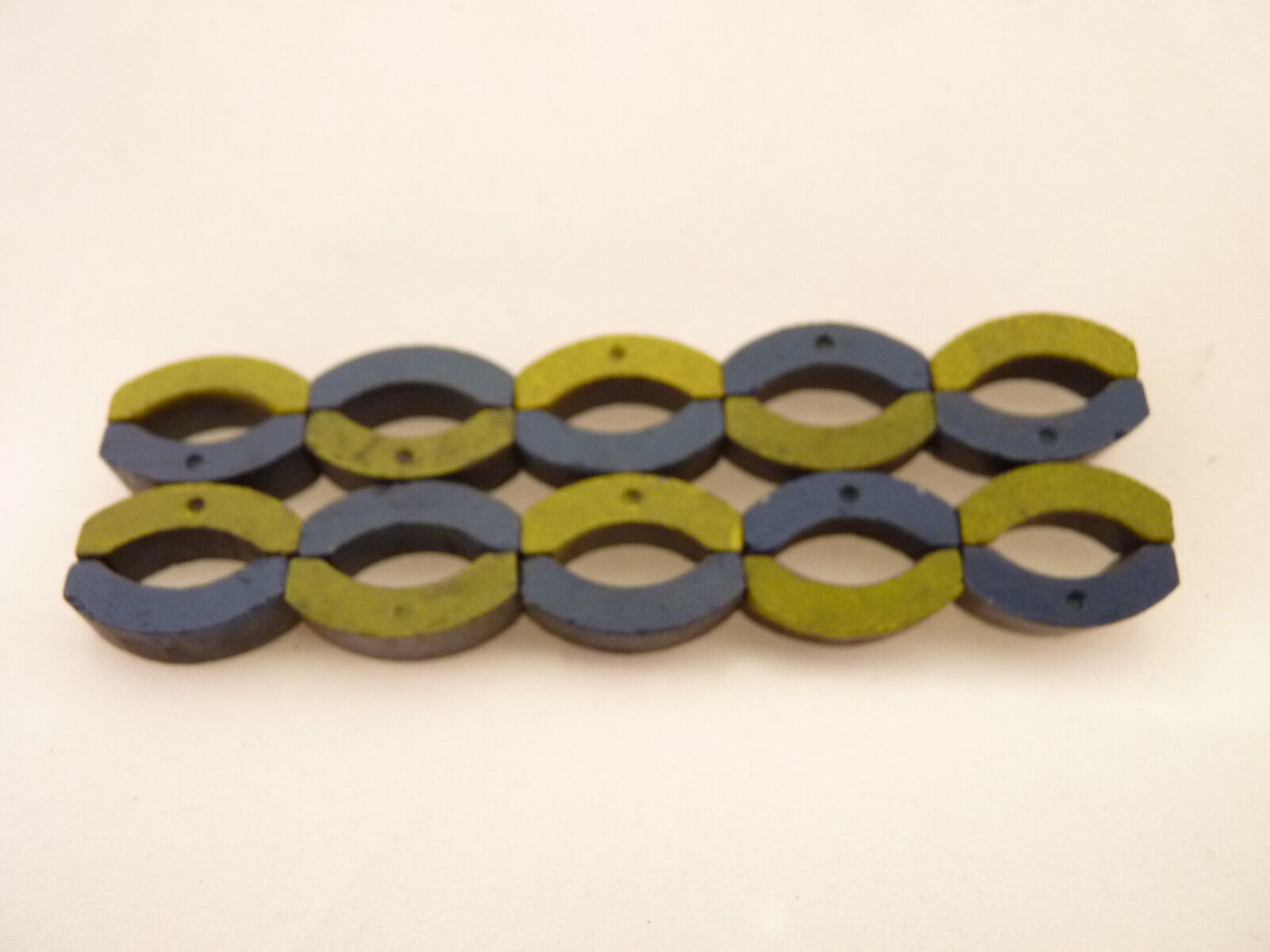 Aurora AFX Super II ORIENTED Magnets 10 SETS OF PARS, blueE YELLOW LOT