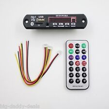 DC 5V USB Power Supply TF Radio MP3 Decoder Board Audio Car Remote Music Speaker