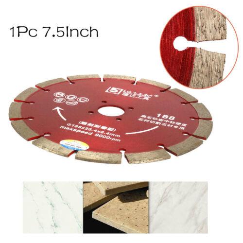7.5inch Diamond Circular Saw Blade For Tile Granite Concrete Marble Cutting Tool