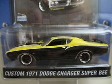 /'71 Dodge Charger Super Bee  NOC 319CTBK5 Greenlight  Muscle Car Garage