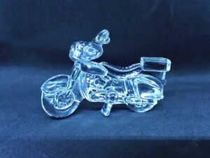 MIKASA-Germany-Crystal-Glass-Motorcycle-Ornament-Figurine-3-034