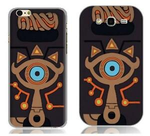 big sale f0665 cbc1d Details about Legend of Zelda Breath of the Wild Sheikah Slate Case Cover  for iPhone & Samsung