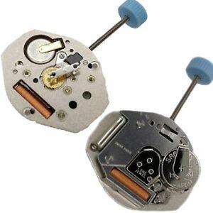 Suizo-Ronda-763-3-Pin-Movimiento-de-Cuarzo-con-Bateria-amp-Vastago-Accesorios-Reloj
