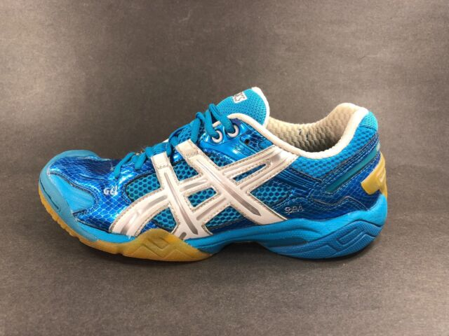 Asics™ ~ GEL DOMAIN 2 Indoor Court Volleyball Shoes ~ E052Y ~ Women Sz 8 ~ GOOD