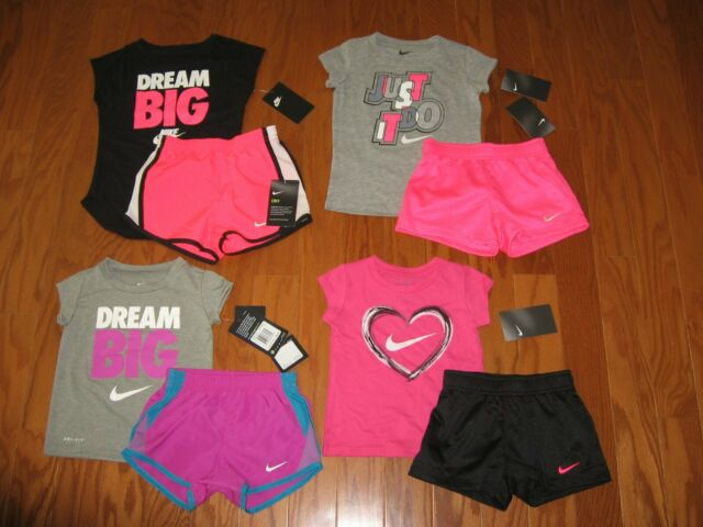 Nike Toddler Girls 2T 3T 4T T Shirt Tee Shirt Top NWT