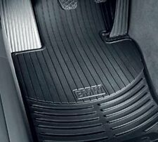 BMW X5 (E70) all-weather rubber floor mats -- FRONT Black 82112318671