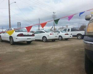 Car Dealer Lot 2 50 Poly 9x12 Flag Advertise Streamers Multi Ebay