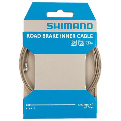2x Shimano Bremszug 1,6mm x 1700mm