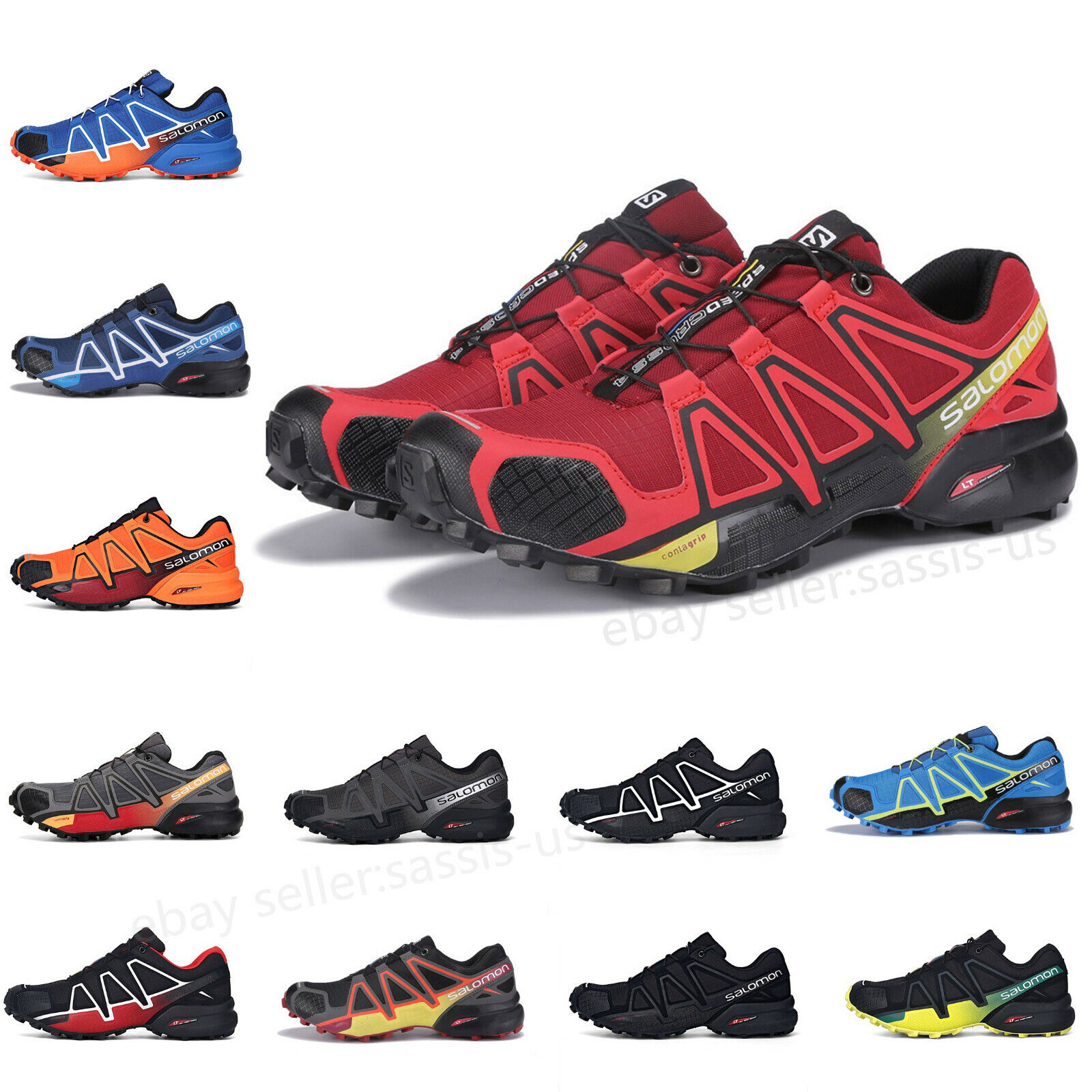 Details about Uomo Salomon Speedcross 3 Sneakers Outdoor Running escursione Scarpe sportive