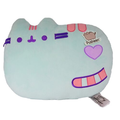Pusheen The Cat PUP01 Almofada que estabelece Verde Pastel
